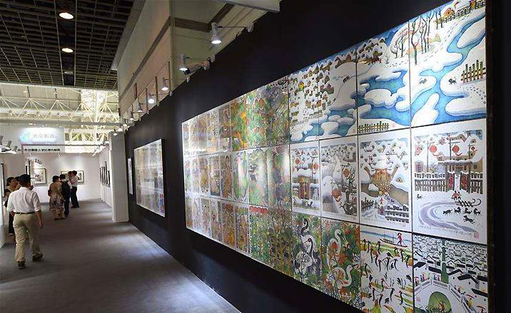 L'exposition a été composée des cinq thèmes
