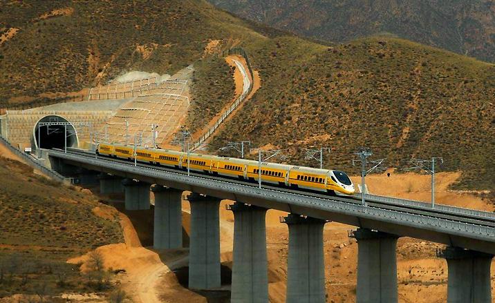 Mongolie intérieure : le premier TGV est pleinement opérationnel