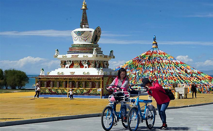 Randonnée à bicyclette : la route interprovinciale du Gansu au Qinghai -1