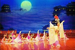Spectacle traditionnel des chants et des danses de la dynastie de Tang