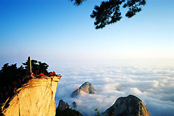 Au mont du Huashan