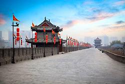 Les remparts de la vieille ville de Xi'an