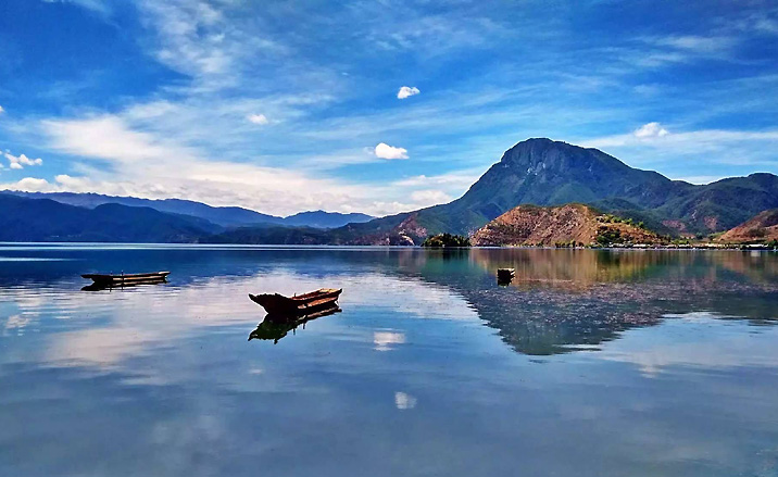 Lac Lugu, province du Yunnan