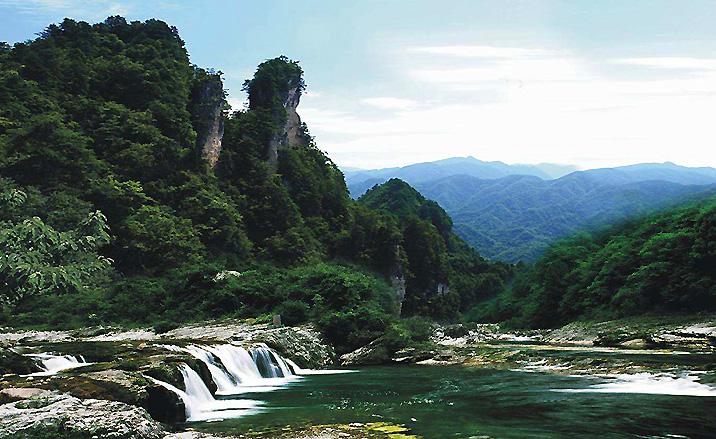 Géoparc Guangwushan-Nuoshuihe