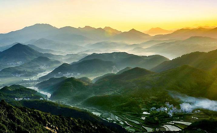Géoparc mondial Huanggang Dabieshan