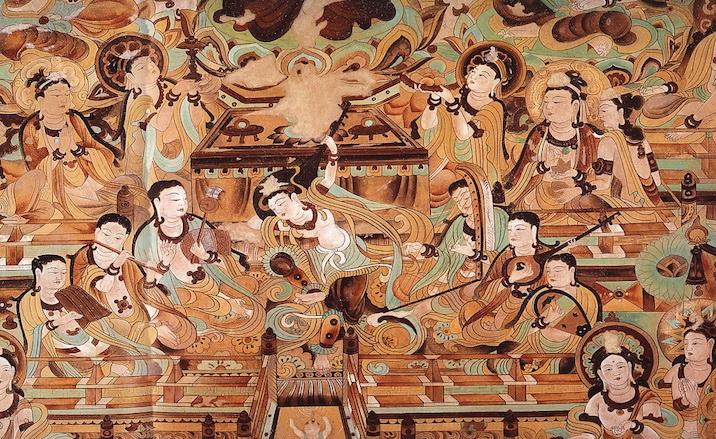 Fresque de Grottes de Mogao